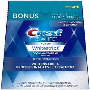 Crest 3D White Professional Effects Strips