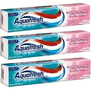 Aquafresh Sensitive Toothpaste
