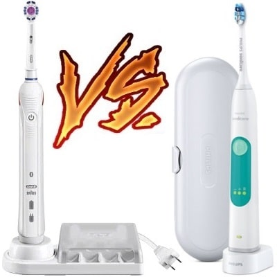Oral-B Pro 3000 vs Philips Sonicare 3 Series