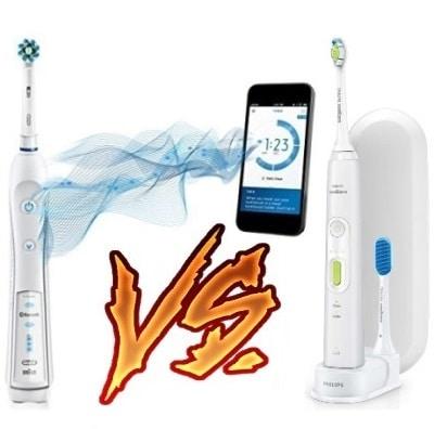 Oral-B Pro 5000 vs Sonicare HealthyWhite