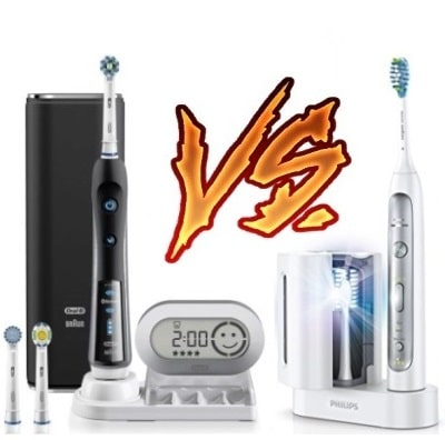Oral-B 7000 vs Sonicare Flexcare