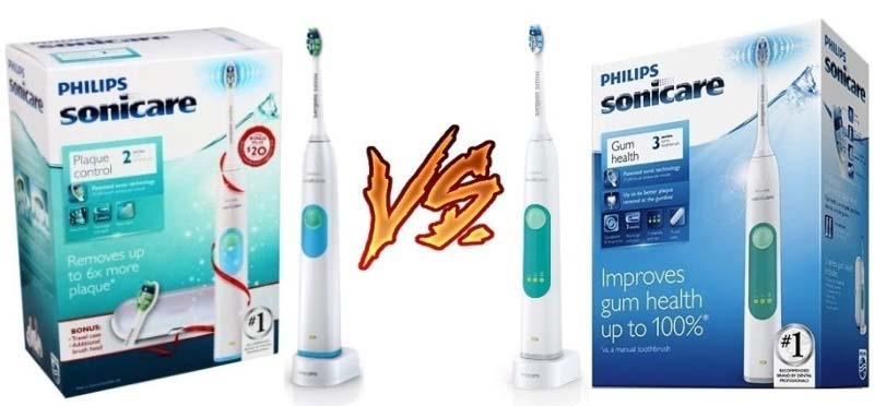 Philips Sonicare 2 Series vs 3 Series
