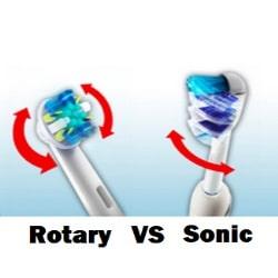 Rotary vs sonic