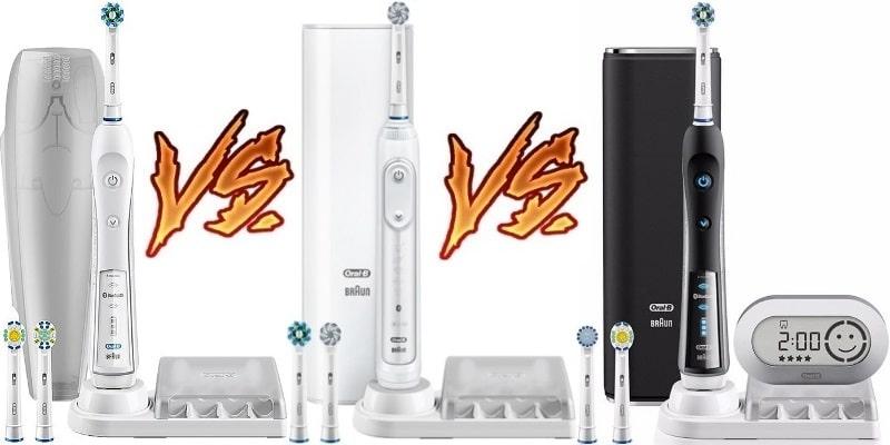Oral-B Pro 5000 VS 6000 VS 7000