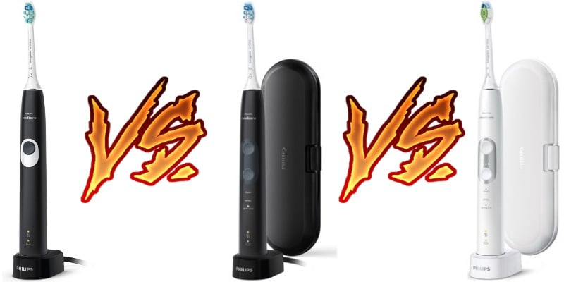 Philips Sonicare ProtectiveClean comparison