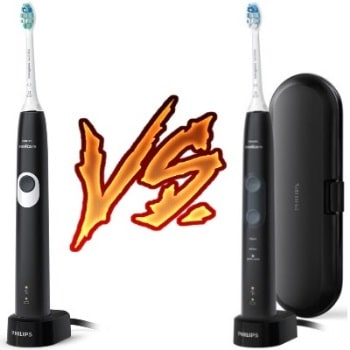 Philips Sonicare ProtectiveClean 4100 vs 5100