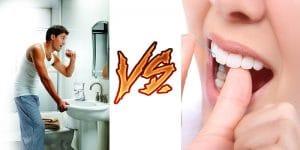 Waterpik vs. Flossing